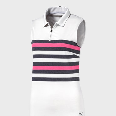 SLEEVELESS ROAD MAP POLO