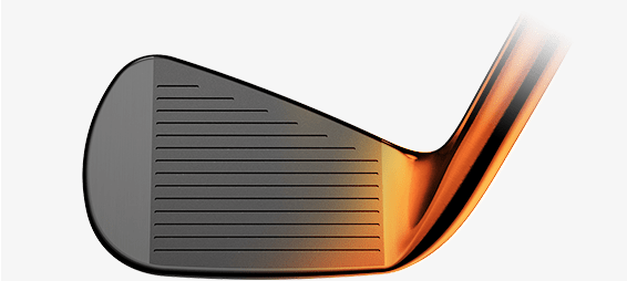 Black and Orange Iron
