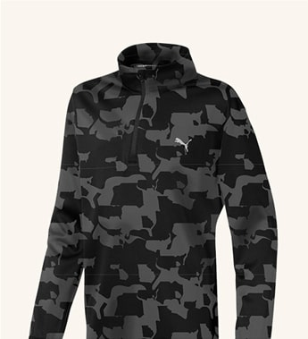 Boys Union Camo 1/4 Zip